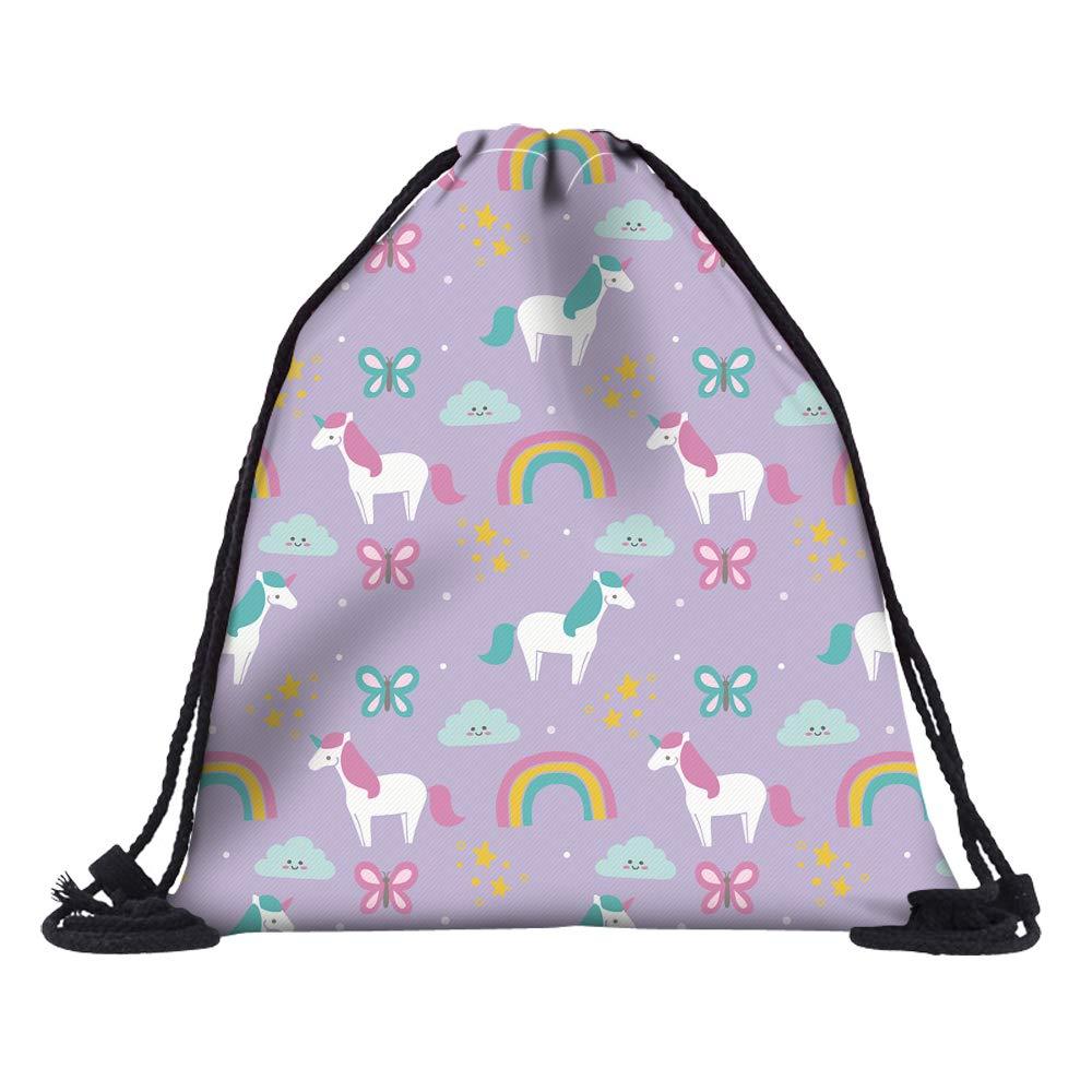 HELLATHUNDファッションスクールバックパック女性用バッグヒップスターバッグバックパックジムバッグ   B07PMJ5X4D