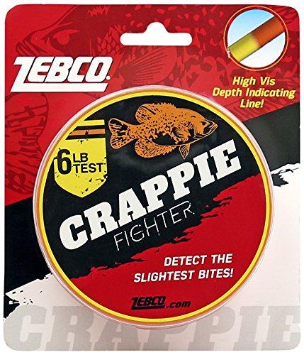 Zebco CRDPLINE06CP4 Zebco Crappie Depth Locator Line, 6 Lbs