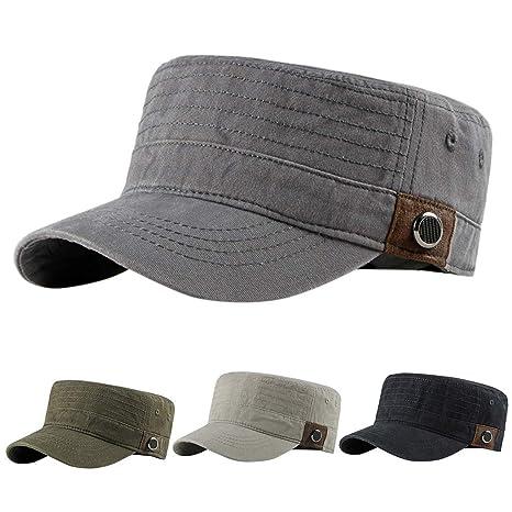 9b48af4ab7a6b Amazon.com: Aliturtle Fashionable Cadet Army Baseball Cap Basic ...