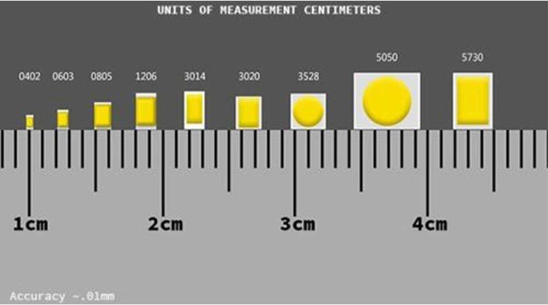 Ultra Bright Pack of 20 Lighthouse LEDs 12v 0603 Nano SMD Wide Angle Pre-Wired Blue LED 10v, 11v, 12v, 13v, 14v, 15v, 16v, 17v, 18v
