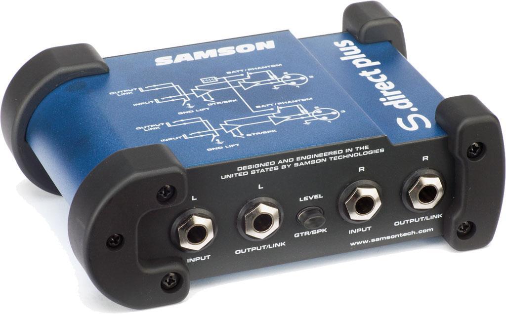 Amazon Com Samson S Direct Plus Mini Stereo Direct Box