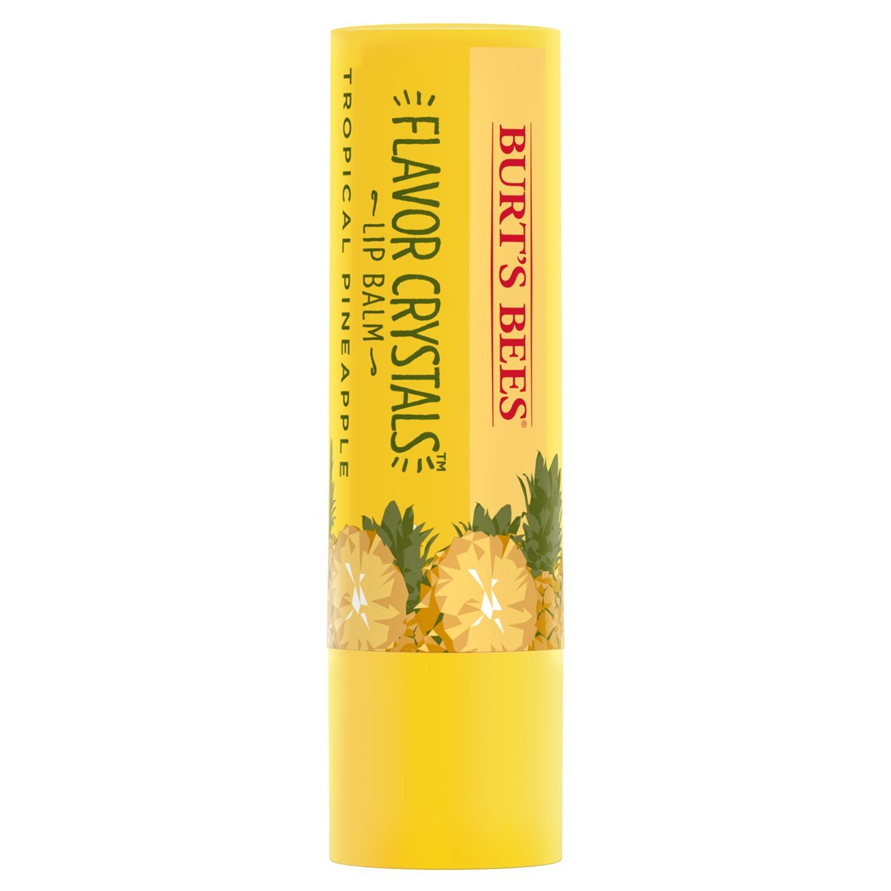 Burt's Bees Flavour Crystals 100 Percent Natural moisturising Lip Balm, 4.53 g, Tropical Pineapple Cbee Europe Ltd 89715-14