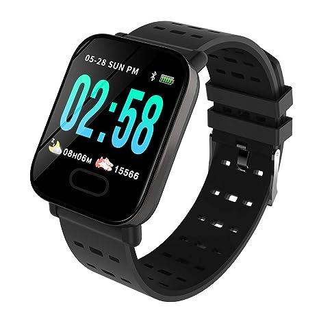 Amazon.com: Reloj inteligente LYQ A6 Bluetooth impermeable ...