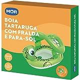 Boia Inflável Tartaruga Fralda/Para Sol Mor