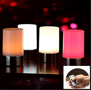 Marvelous VONGEM LED Rechargeable Table Lamp Widely Used In Home Hotel Restaurant Bar  KTV With USB Cable