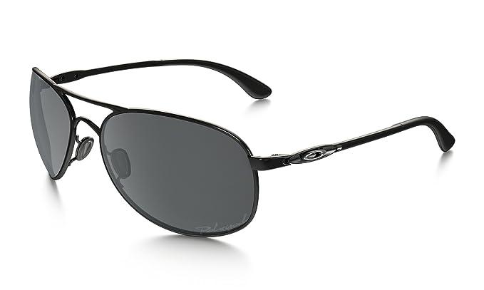oakley womens sunglasses given  oakley women's given polarized polished black/black iridium sunglasses