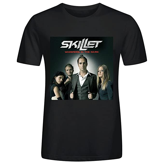 Skillet Whispers In The Dark T Shirts For Men Black: Amazon ca