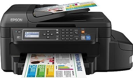Epson EcoTank ET-4550 - Impresora multifunción (WiFi, inyección de Tinta), Color Negro