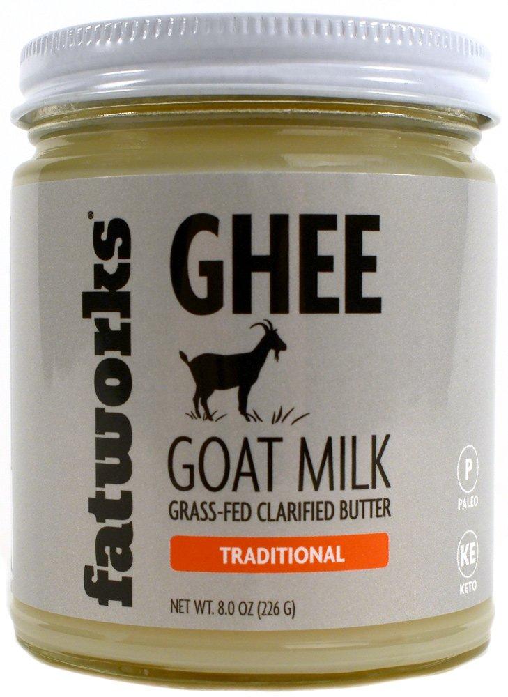 Fatworks Grass-Fed Goat Milk Ghee (8 ounce)