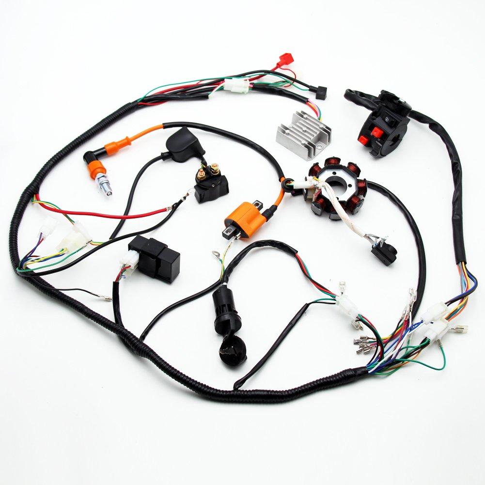 Complete Electrics Atv Quad 150cc 200cc 250cc 300cc 3 Holes Stator Wire Diagram Zongshen 200 Cdi Performance Coil Harness Lifan Car Motorbike