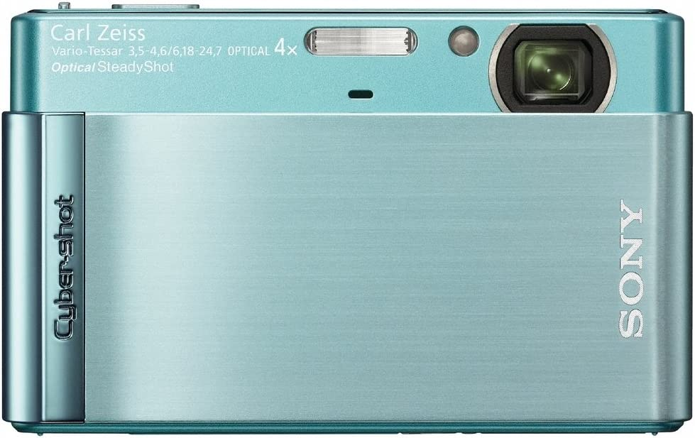 Sony Cyber-shot DSC-T90 12 MP Digital Camera with 4x Optical Zoom and Super Steady Shot Image Stabilization (Blue)