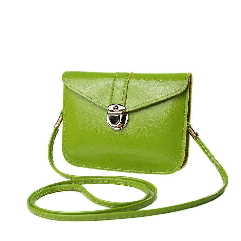 Adagod Fashion Zero Purse Bag Leather Handbag Single Shoulder Messenger Phone Bag