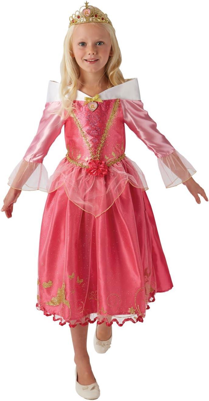 Princesas Disney - Disfraz de Bella Durmiente Deluxe para niña ...