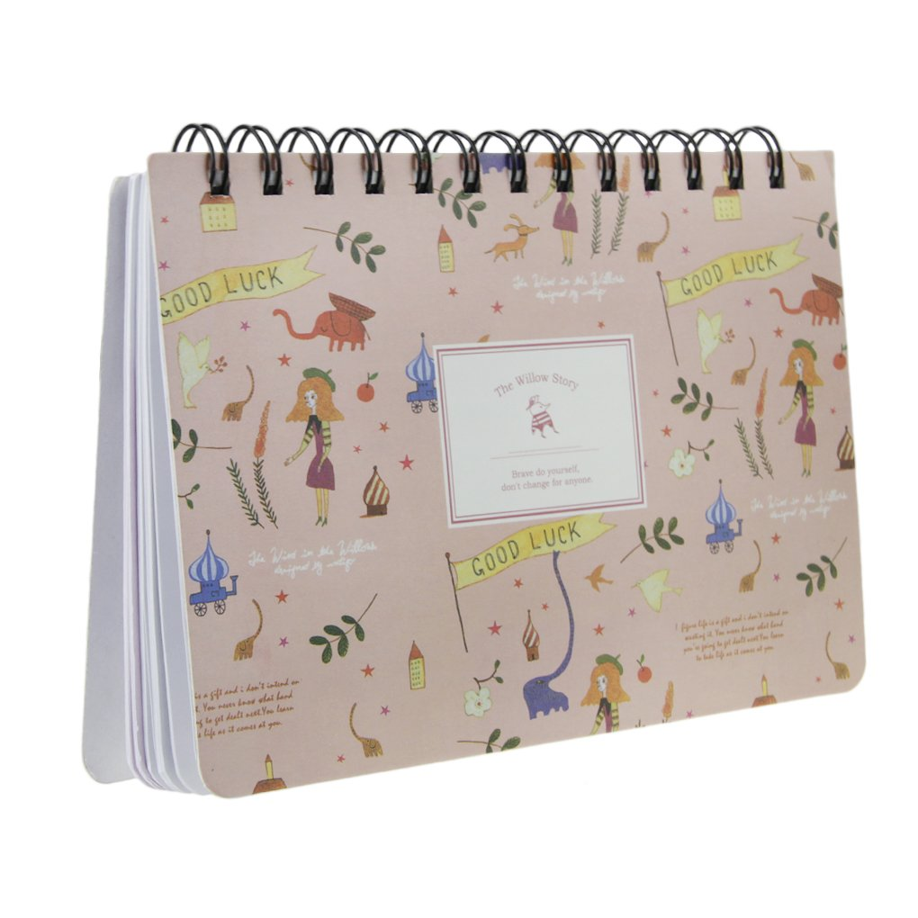 Spiral Personal Organizer Mini Weekly Planner Agenda Notebook Pocket Size 56 Sheets 7.3