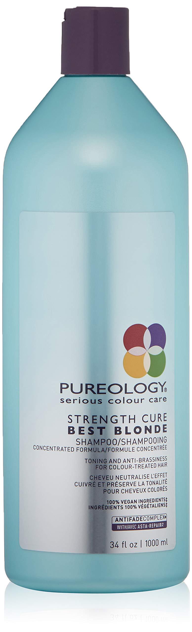 Pureology Strength Cure Best Blonde Purple Shampoo, 33.8 Fl Oz by Pureology