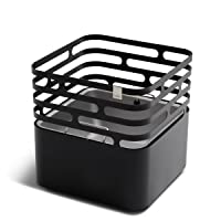 Cube Feuerstelle höfats Edelstahl schwarz klein ✔ eckig