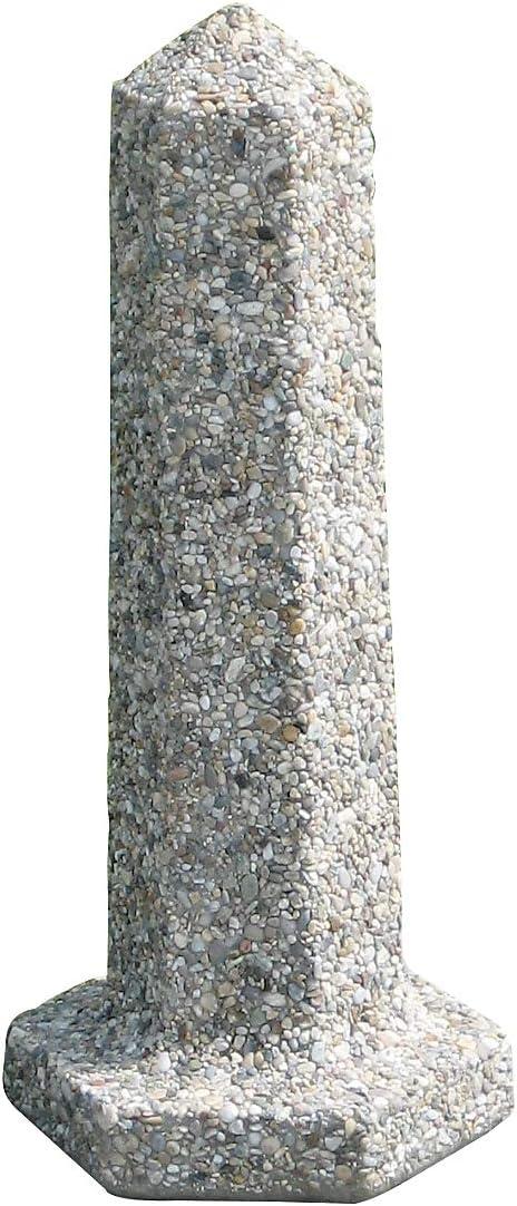H/öhe 86 cm Certeo Betonpfosten Beton Anfahrschutz Poller Rammschutz Wegsperre Sperre Stra/ßensperre Betonelement