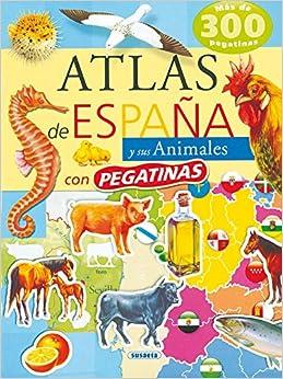 Atlas De España Y Sus Animales por Susaeta Ediciones S A epub