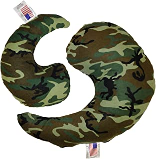 product image for NuAngel Greenbow Support Pillows - (Small & Medium) - Made in USA! (Green Camo)