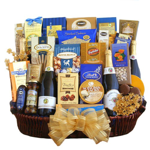Cheers to Happy New Year! Celebration Gift Basket