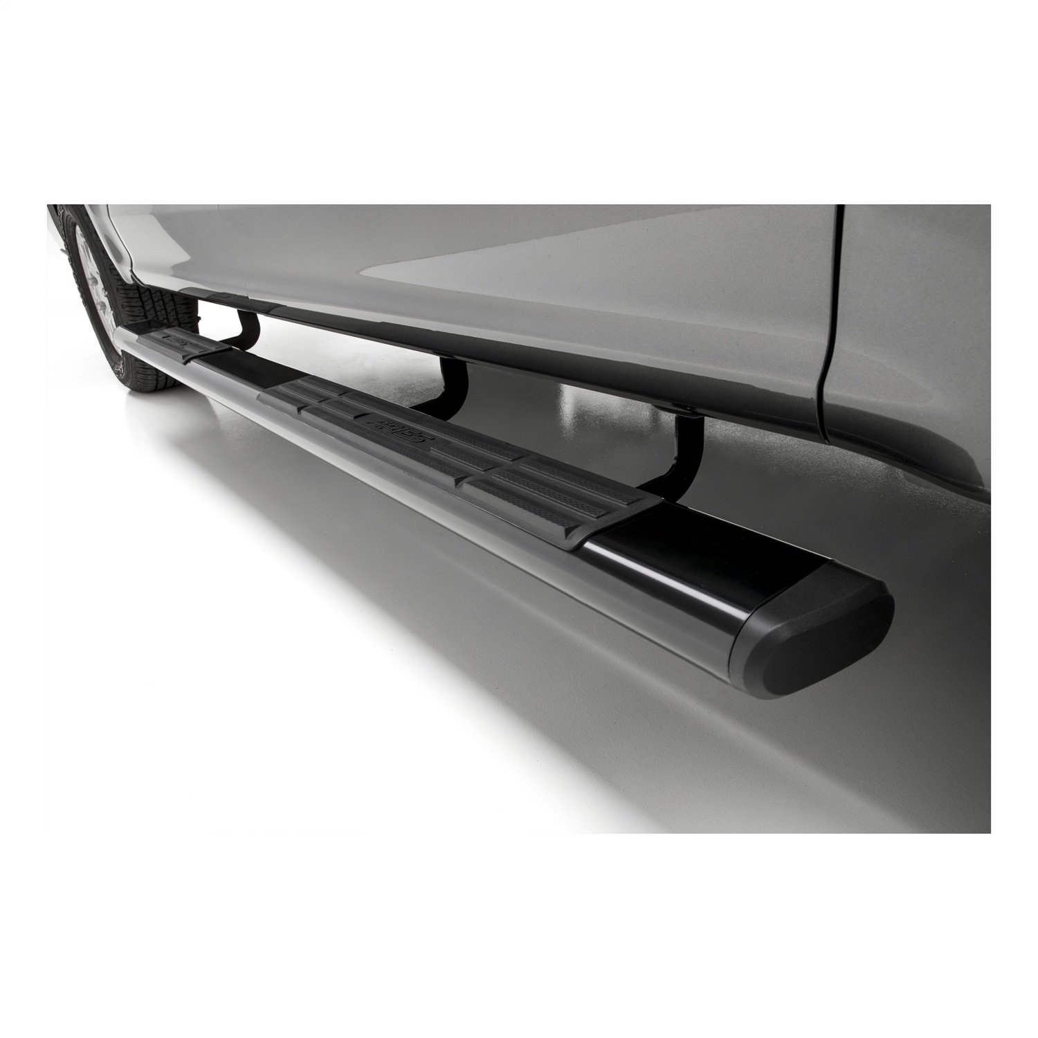 ARIES B2891 91-Inch Oval Black Aluminum Nerf Bars Brackets Sold Separately