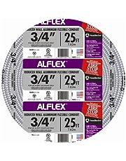 Southwire 55082321 Aluminum Flexible Metal Conduit, Silver