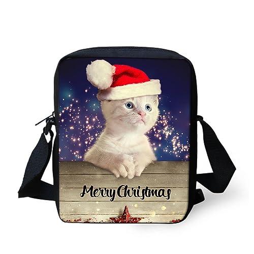 Amazon.com  Bigcardesigns Christmas Teens Sling Cross Body Satchel Bag  Handbag Purse  Clothing aba332488c306