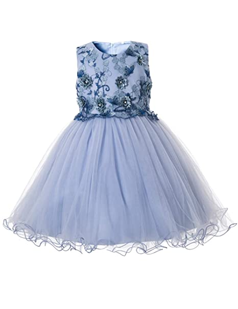 ee8e458fe CIELARKO Vestidos para Niñas de Princesa de Fiesta de Verano con ...