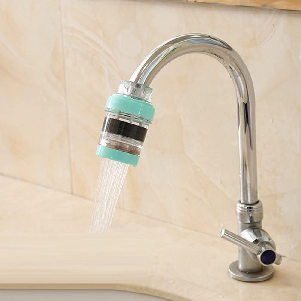 Outdoor Housewares Offices ?Magnetic Water Purifier Maserfaliw Home Kitchen Faucet Filter Magnetic Water Purifier Bathroom Water-saving Device Holiday Gifts. Pink