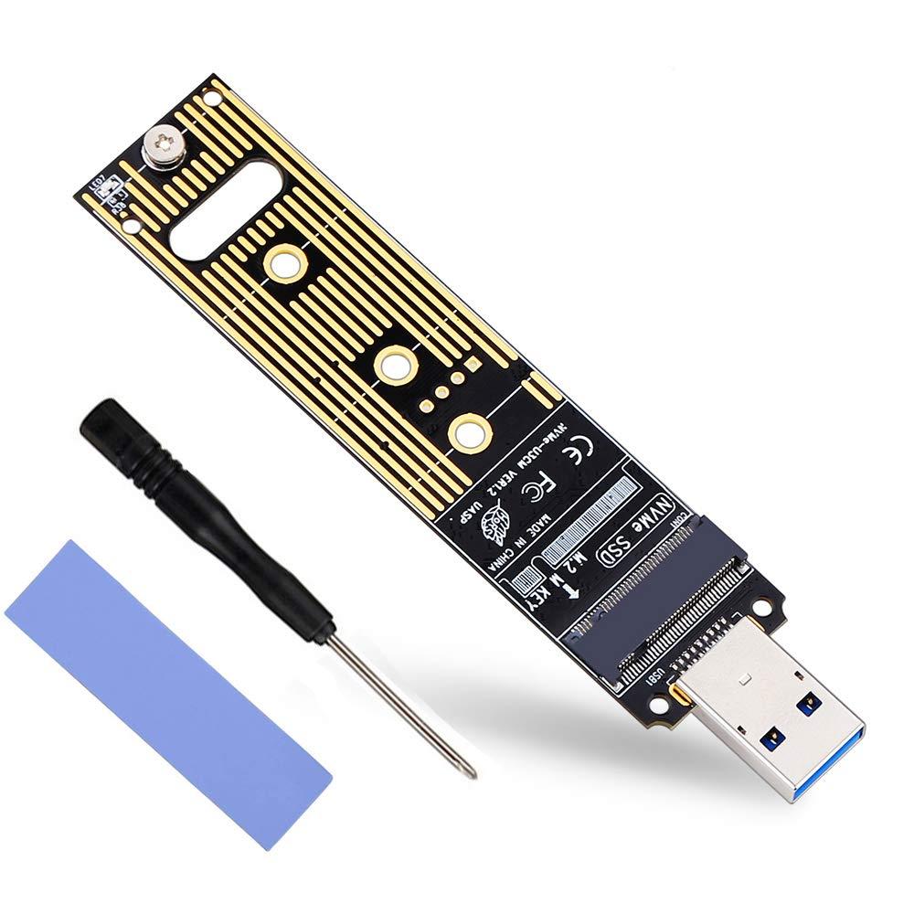 Disco Duro Convertidor Lector Alto Rendimiento 10Gbps USB3.1