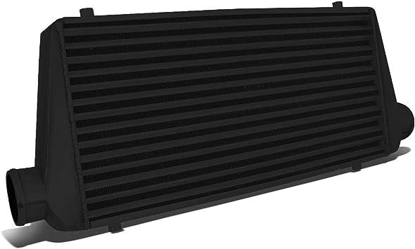 "RDT Black Aluminum Turbo FMIC Front Mount Tube /& Fin Intercooler 31/"" x 12/'/' x3/'/'"