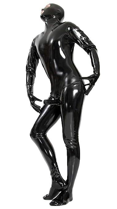 Unisex Sexy Wet Look Disfraz De Gato para Mujer Cosplay Catsuit Mono De  Cuero De Patente  Amazon.es  Deportes y aire libre 56c67c410b82