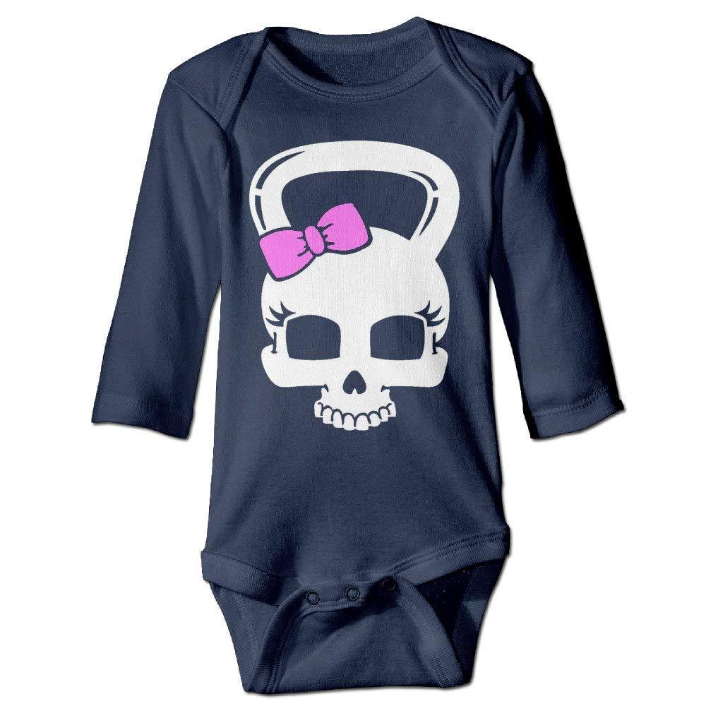magic ship Baby Boys and GirlS Bodysuits Skull Kettlebell ...