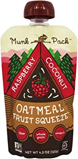 product image for Munk Pack - Gluten Free Oatmeal Fruit Squeeze Raspberry Coconut - 4.2 oz (pack of 2)