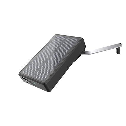 Amazon.com: Cargador solar MAXOAK 7800 mAh Solar Manivela de ...