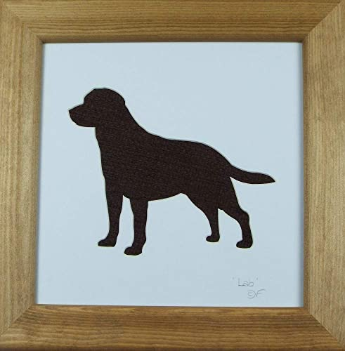 Labrador Art and Personalised Gift Ideas for lab lovers and owners Dog Home Décor Artwork: Amazon.co.uk: Handmade