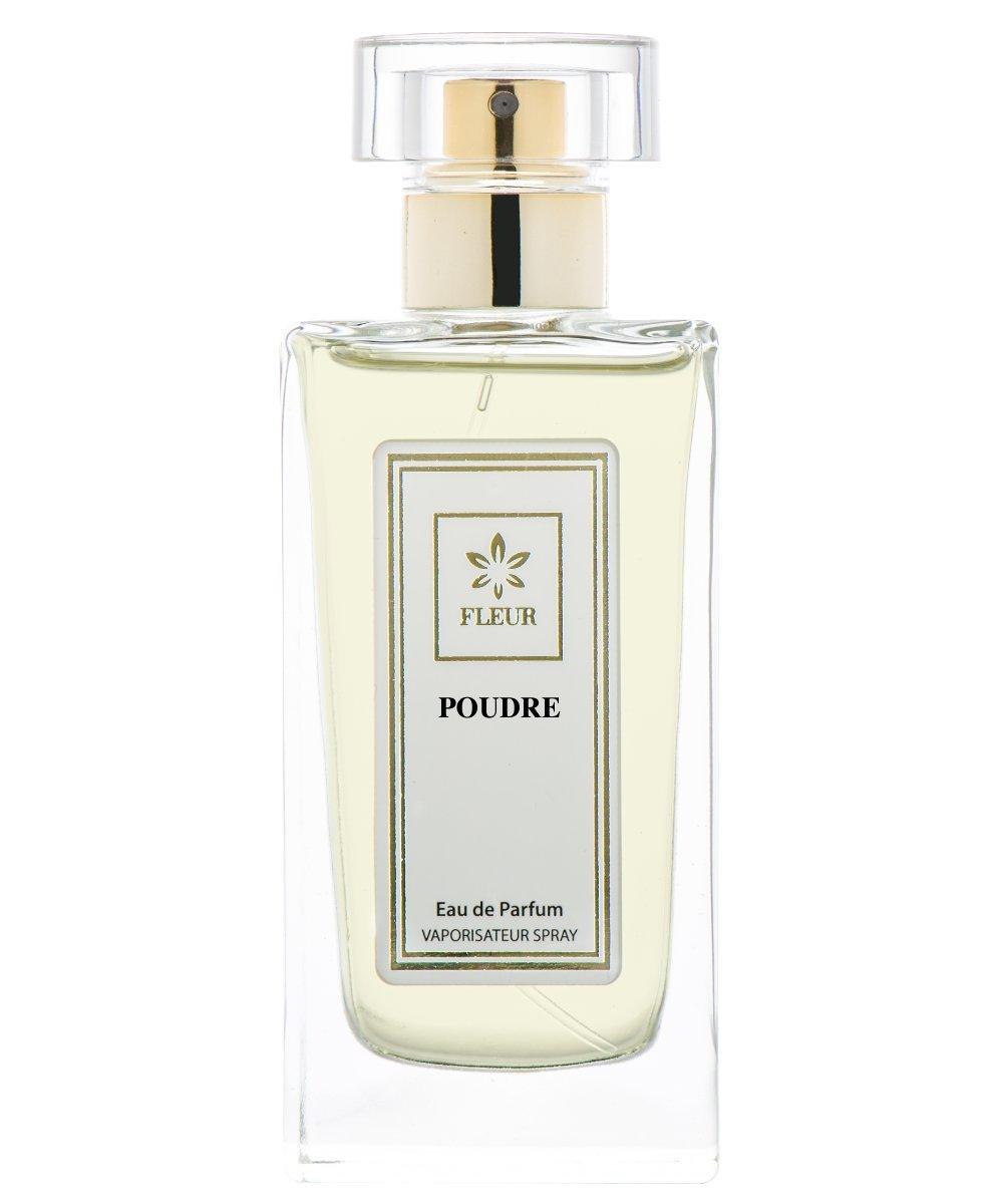 Poudre Eau de Parfum pour Femme/Women , Poudreaux-Frais-Musc Fragrance de Fleur Parfumerie , Flacon Taille Voyage , Vaporisateur/Spray, 1 x 15 ml