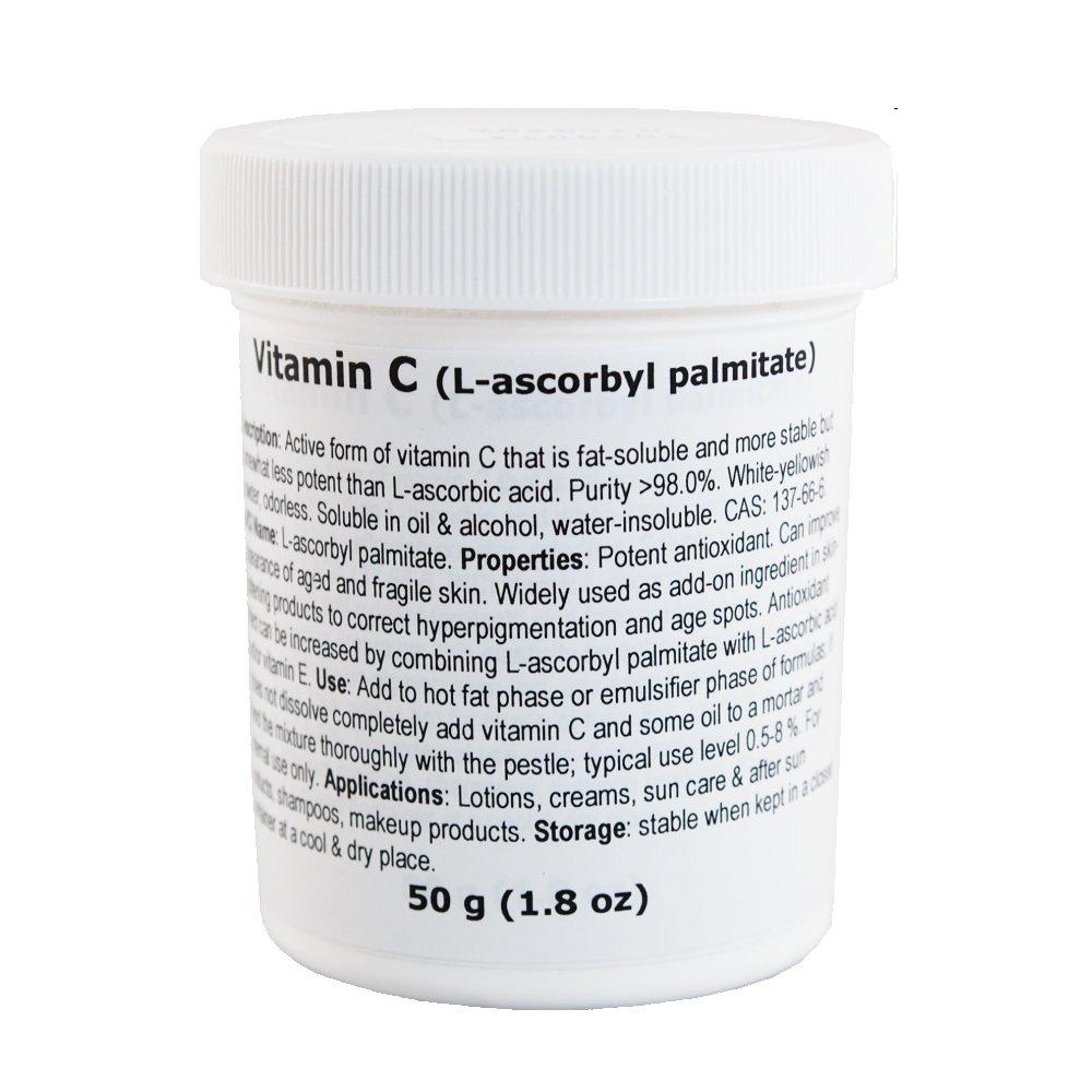 Vitamin C (L-ascorbyl palmitate) - 1.8oz/50g