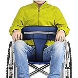 Wheelchair Seat Belt Wheelchair Accessories Safety Belt for Elderly Wheelchair Belt Restraint Chest Harness Adjustable Strap