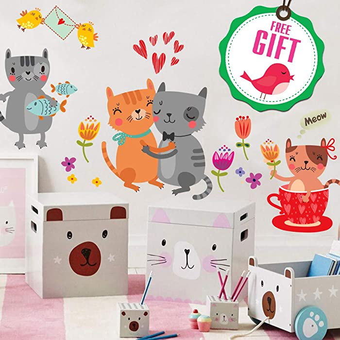 Top 9 Dog Cat Kid Home Sstickers