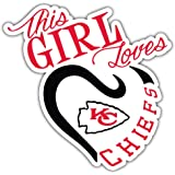 Kansas City Sport for Life Car Bumper Sticker Decal 5 X 5 hotprint Chiefs Football