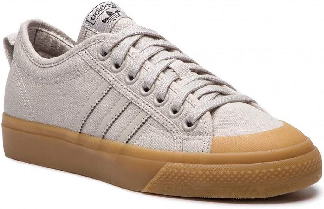 B37866 Nizza Shoes, Chalk Pearl/Gum, 7