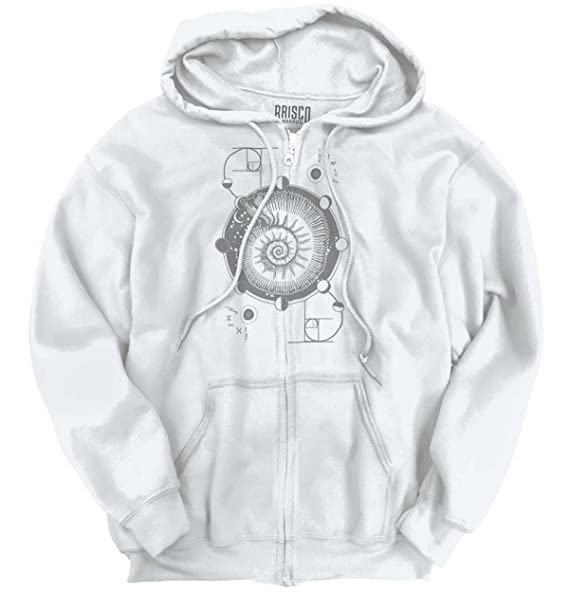 Amazon Nautilus Shell Symbolic Meaning Spiritual Zipper Hoodie