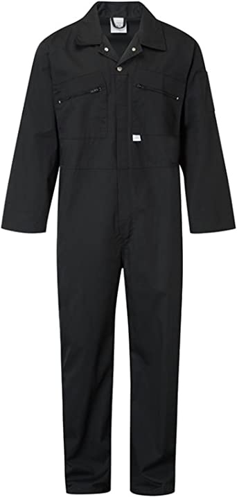 Ladies Or Mens Navy Blue Colour Boilersuit Or Overalls.