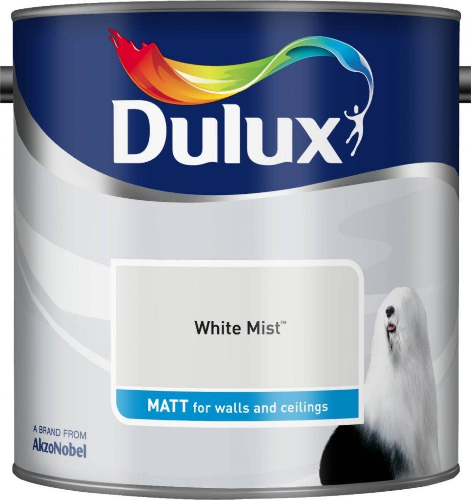 Dulux Matt White Mist, 2.5 L AkzoNobel 500006