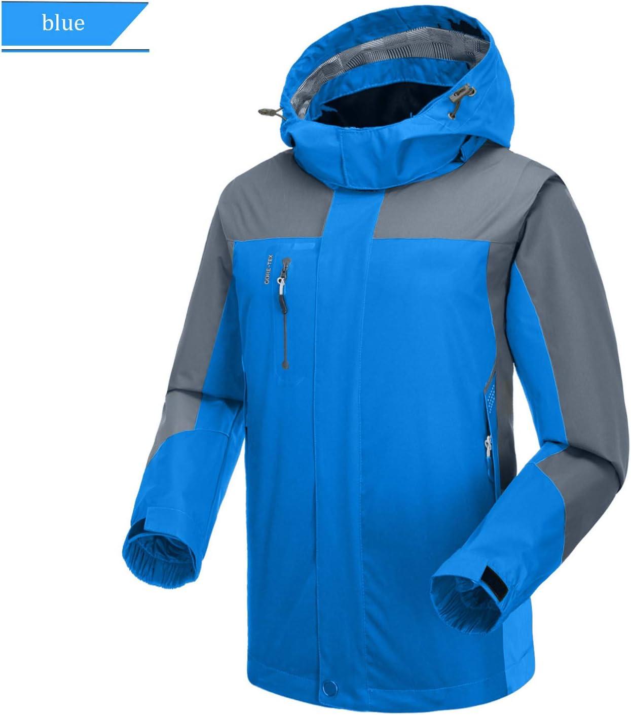 SUKUTU Giacca Softshell da Uomo Impermeabile Giacca Leggera da Montagna per Escursioni allaperto con Cappuccio