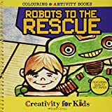 Faber-Castell Creativity For Kids Coloring & ARTivity Book: Robots To The Rescue