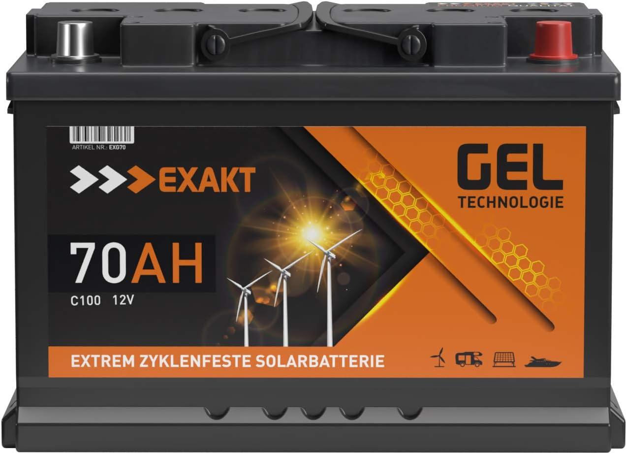 GEL Batterie Solar Wohnmobil Boot Versorgungsbatterie Akku 9Ah - 9Ah  (9AH 9V)