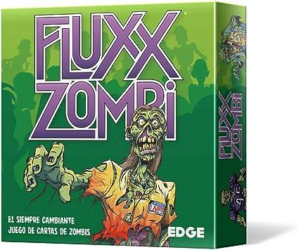 Edge Entertainment- Fluxx Zombi - Español, Color (Edge Enterteinment EELLFL03): Amazon.es: Juguetes y juegos