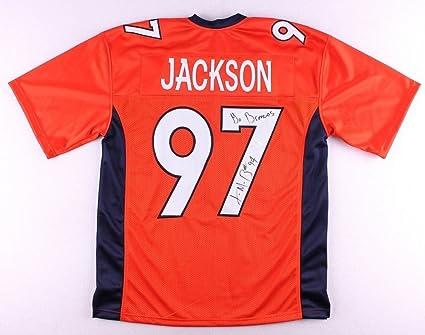 huge discount 36123 e71cf Malik Jackson Autographed Signed Denver Broncos Jersey ...